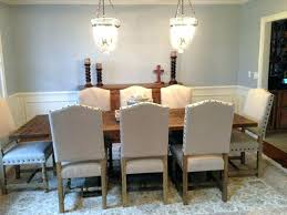 Nailhead Dining Room Chairs Head Chair Where To Buy Grey Leather Large Size
