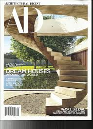 100 Dream Houses In The World Amazoncom AD Architectural Digest Magazine May 2017