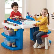 Easel Desk With Stool by Kids Art Table Ebay