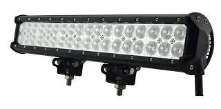 100 Light Bar Truck 17 Inch 108W Dual Row LED SUV ATV UTV 4WD Fog