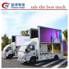 Trailer Manufacturer In China, Isuzu Brand Led Truck