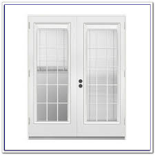 French Patio Doors Outswing by Outswing French Patio Doors With Blinds Patios Home Design