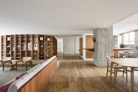 100 Apartment In Sao Paulo Curved Bookshelf Organises Pascali Semerdjians VLP
