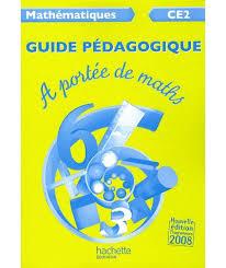 a portée de maths ce2 guide pédagogique ed 2009 livre du
