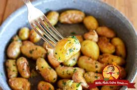 cuisiner des pommes de terre ratte pommes de terre ratte sautées à l ail petits plats entre amis