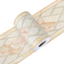 yoillione tapetenbordüre selbstklebend wandbordüre bad