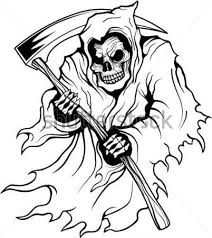 Coloring Pages For Adults Anime Clipartlogo Grim Reaper