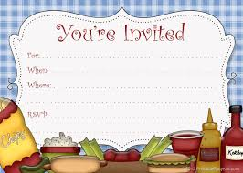 Halloween Potluck Invitation Template Free Printable by Free Printable Party Invitations Free Printable Picnic