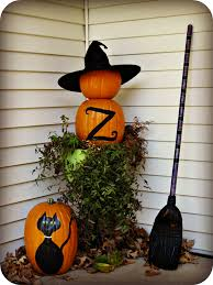 Outdoor Halloween Decorations Diy by Halloween Porch And Diy Outdoor Halloween Decorations Laughing Abi