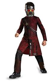 Disguise Marvels Guardians Of The Galaxy Star Lord Classic Boys Costume Small 4