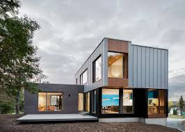 100 House In Nature Le Bic By Humaine Combines Wood And Steel