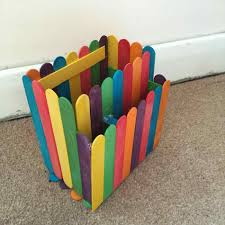 How To Make A Pencil Holder With Popsicle Sticks Pictures