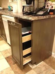 Trash Cans Under Cabinet Can Size With Lid 25 Best Kitchen