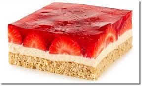 nuss biskuit erdbeer kuchen
