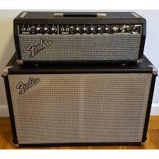 Fender 2x10 Guitar Cabinet by Fender Tremolux Blackface Head U0026 Cabinet Amplifier Ab763 Vintage Amp
