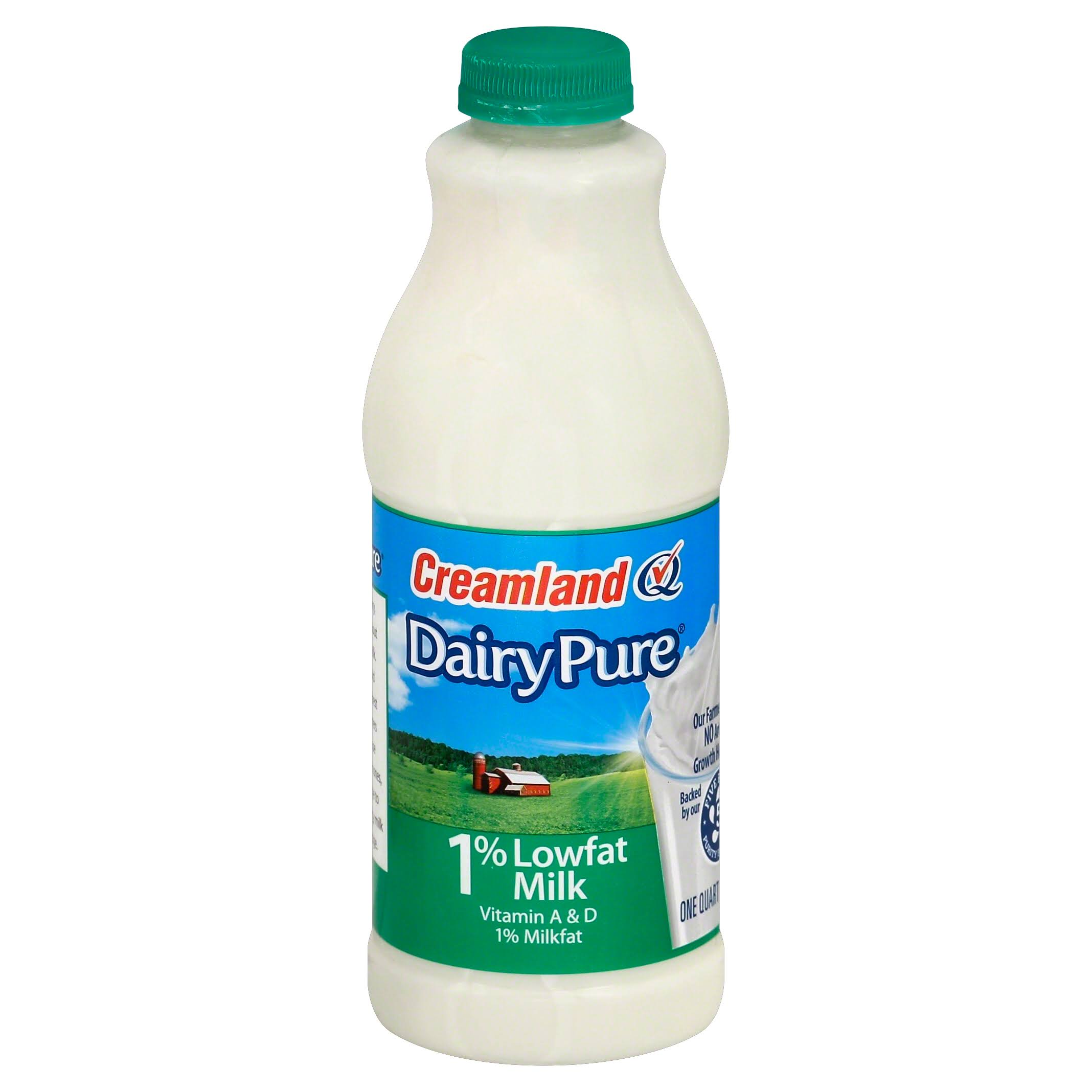 Berkeley Farms Dairy Pure Lowfat Milk - 1qt