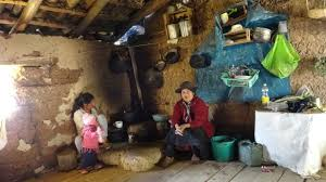 Inside A Poor Andean Home In Peru