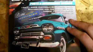 100 Chevy Truck Parts Catalog Free Classic Industries FREE YouTube