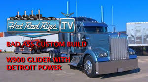 CUSTOM IRON ON A BRAND NEW W900 GLIDER - BUILT BY THE BEST - HOT ROD ...