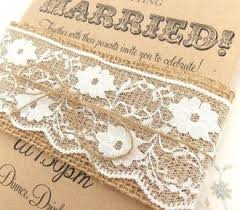 Rustic Burlap Wedding Invitations Australia Country Lace Diy