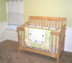 Bedroom Charming Baby Cache Cribs With Curtain Panels And by Decorating Charming Crib In White And Brown By Munire Crib For