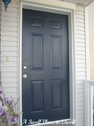 Painting your front door easier than you may think