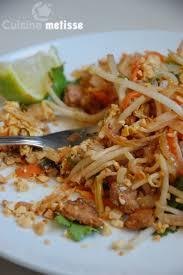 cuisine thailandaise recettes pad thaï végétarien nouilles de riz sautées à la thaï cuisine