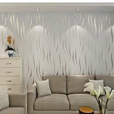papier peint intisse chambre hanmero papier peint moderne intissé motif avec rayures 3d flocage