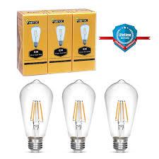 edison bulb notoc retro style led light bulb 4w
