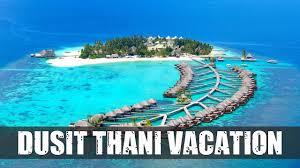 100 Dusit Thani Maldives Rooms Dining Beach Travel Tips YouTube