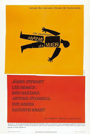 ANATOMY OF A MURDER By Saul Bass 1959