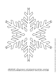 New Snowflake Coloring Pages 73 About Remodel Free Colouring With