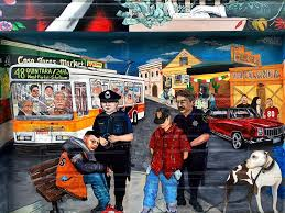Balmy Street Murals Address by Powerful Piece On The Gentrification Of The Mission Yelp