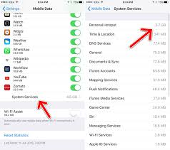 How to Find Data Used by Personal Hotspot on Your iPhone