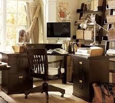 Sauder Heritage Hill 60 Executive Desk by Techni Mobili L Shape Corner Desk With File Cabinet In Dark