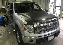 Ford F-150 Matte Black Truck Wrap – Custom Vehicle Wraps