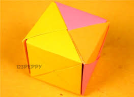 An Easy Craft To Make With Instructions And Video Tutorials Art Idea For Kids Of All Ages Origami Cube