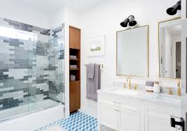 These Subway Tile Bathroom Ideas Will Make You Want To Plan A Reno White Subway Tile Bathroom Ideas Home Reviews Unique Designs 142955 Black And Gray And Purple New Beautiful Beveled Subway Tile Showers Tiles Photos With Marble 44 That Work In Almost Any Style Max Minnesotayr Blog Glass Bathroom Ideas Lisaasmithcom Ice Bath Basement Black White Wall Limestone Bathrooms Floor Pictures Bathtub Wall Design Tiled