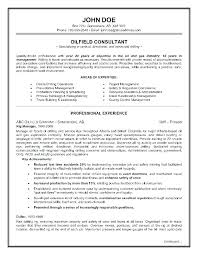 Sample Resume Format For Oil And Gas Industry Examples Rules Resumes Best Technician