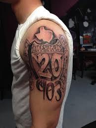 Texas Graffiti Tattoo By Michael Medina Art