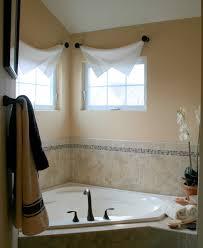 fabulous small bathroom window treatment ideas curtains bathroom