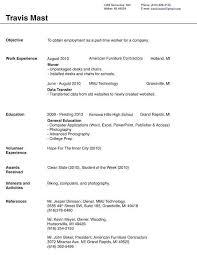 Ms Word Resume Template 2007 Mollysherman