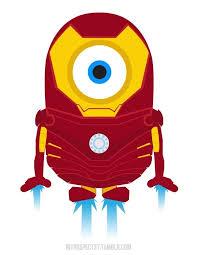Iron Man Minion Minions IronMan