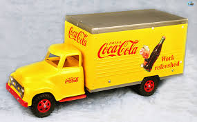 Awesome Restored Vintage 1950s Tonka & Nylint Coca-Cola Delivery ... 602 Best Ford 1930s Images On Pinterest Vintage Cars Antique Heartland Trucks Pickups Hap Moore Antiques Auctions 30 Photos Of Bakery And Bread From Between The Citroen Hy Online H Vans For Sale Wanted Whole In Glass Containers Home Vintage Milk Truck Sale Delivery 1936 Divco Delivery Truck Classiccarscom Cc885313 Model A Custom Car Can Solve New York Snow Milk Lost Toronto 1947 Coca Cola Coe Bw Fleece Blanket