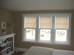 Sidelight Window Treatments Bed Bath And Beyond by White Triple Single Hung Window Completed With Contemporary Loft