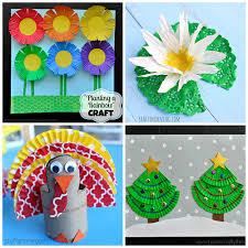 Fun Cupcake Liner Crafts For Kids To Make