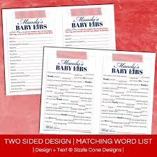 Halloween Mad Libs Pdf by Birthday Mad Lib For Adults Personalized Party Game Printable