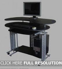 Black Gloss Corner Computer Desk by Corner Gaming Computer Desk Desks Pinterest Desks And