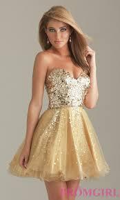 short gold party dress gold sequin short prom dresses promgirl