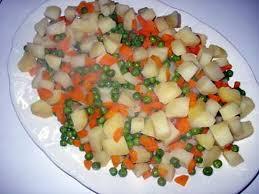 recette de cuisine portugaise facile recette de salade russa recette portugaise macédoine de légumes
